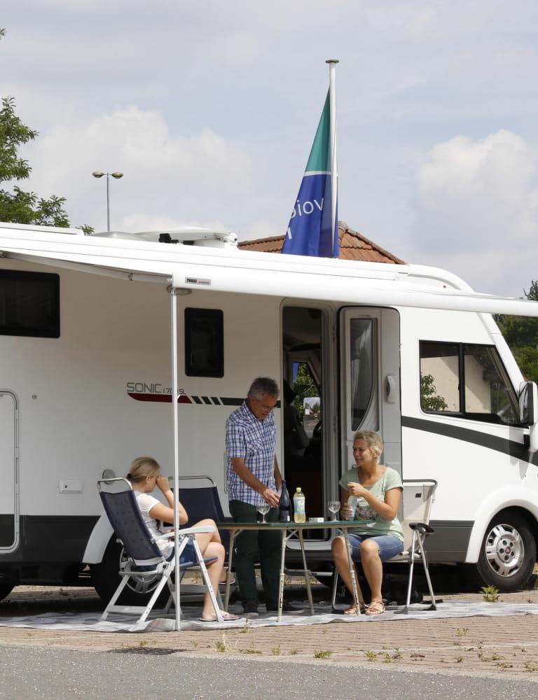 Aire de camping-car de Sarreguemines