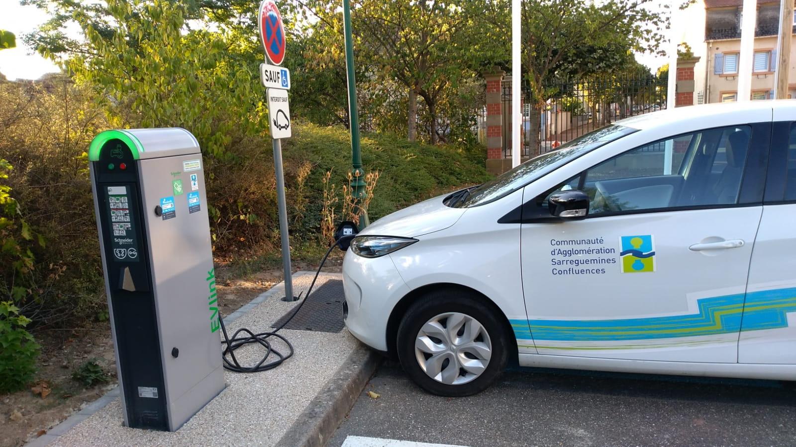 Bornes de recharge électriques