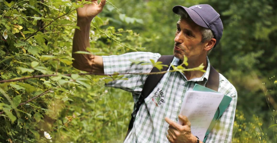 Portrait de Michel Greff, animateur nature