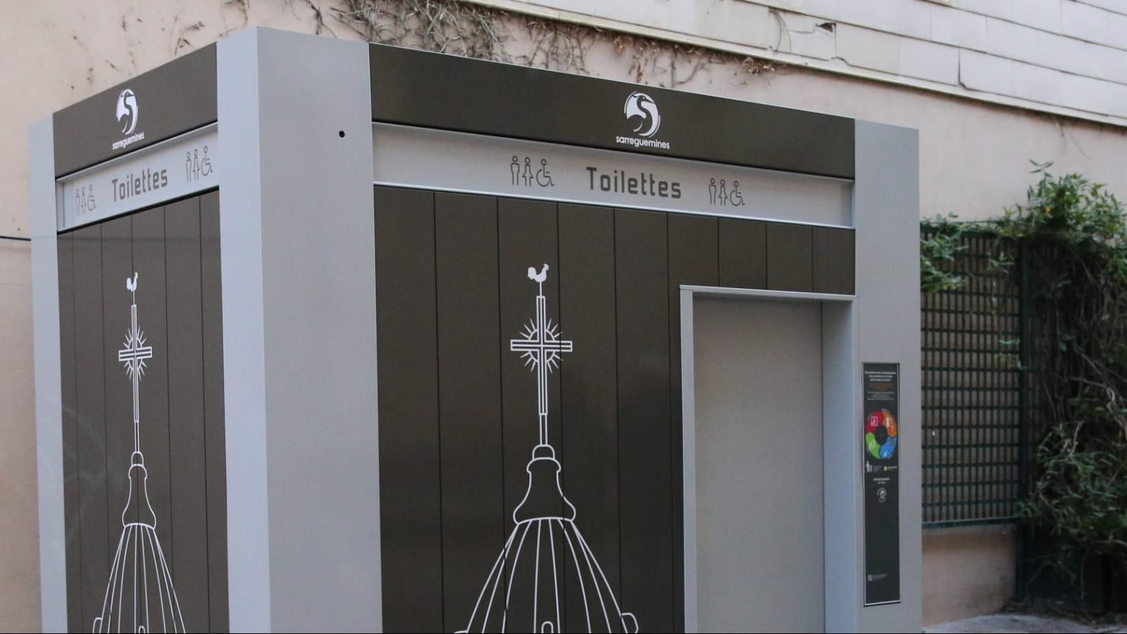 Toilette publique de Sarreguemines