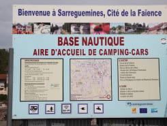 AIRE DE CAMPING-CARS DE SARREGUEMINES